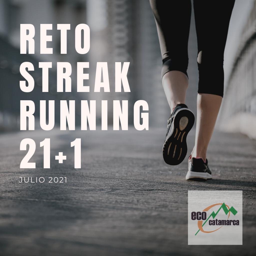 reto streak running 21+1 – Julio 2021